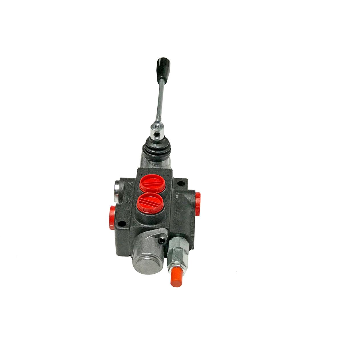 1 spool x 21 GPM hydraulic control valve, monoblock cast iron valve | Magister Hydraulics