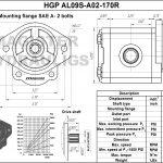 1.70 CID hydraulic gear pump, 9 tooth spline shaft clockwise gear pump | Magister Hydraulics