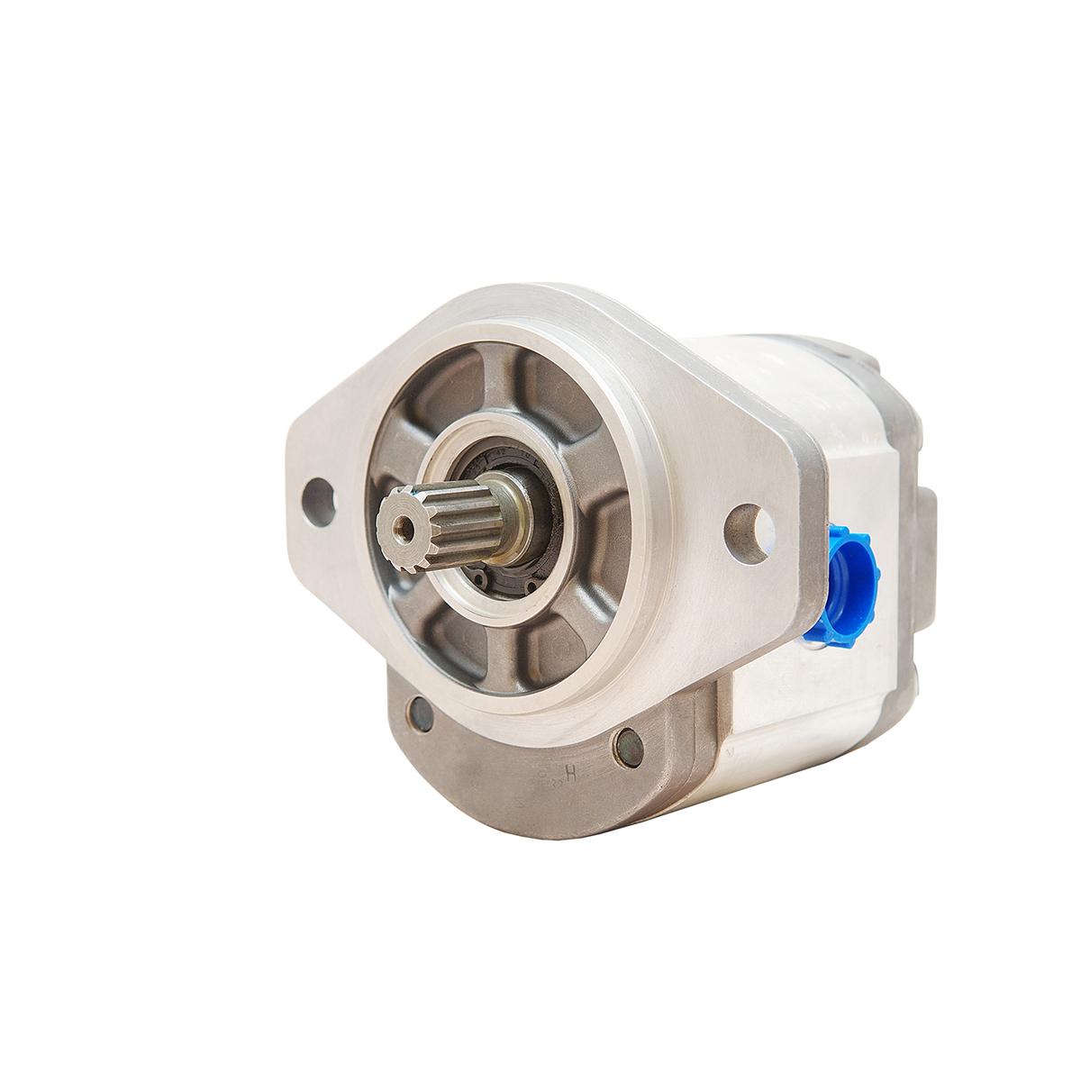 0.85 CID hydraulic gear pump, 9 tooth spline shaft counter-clockwise gear pump | Magister Hydraulics