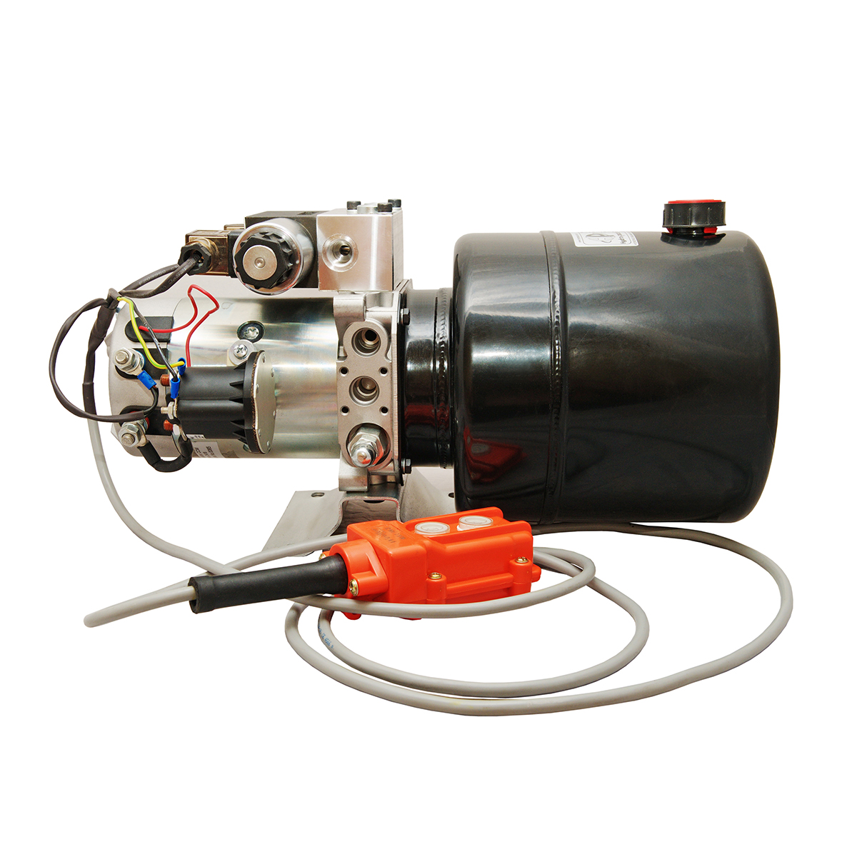 double acting 4 quarts hydraulic power unit 12V DC by Hydro-Pack