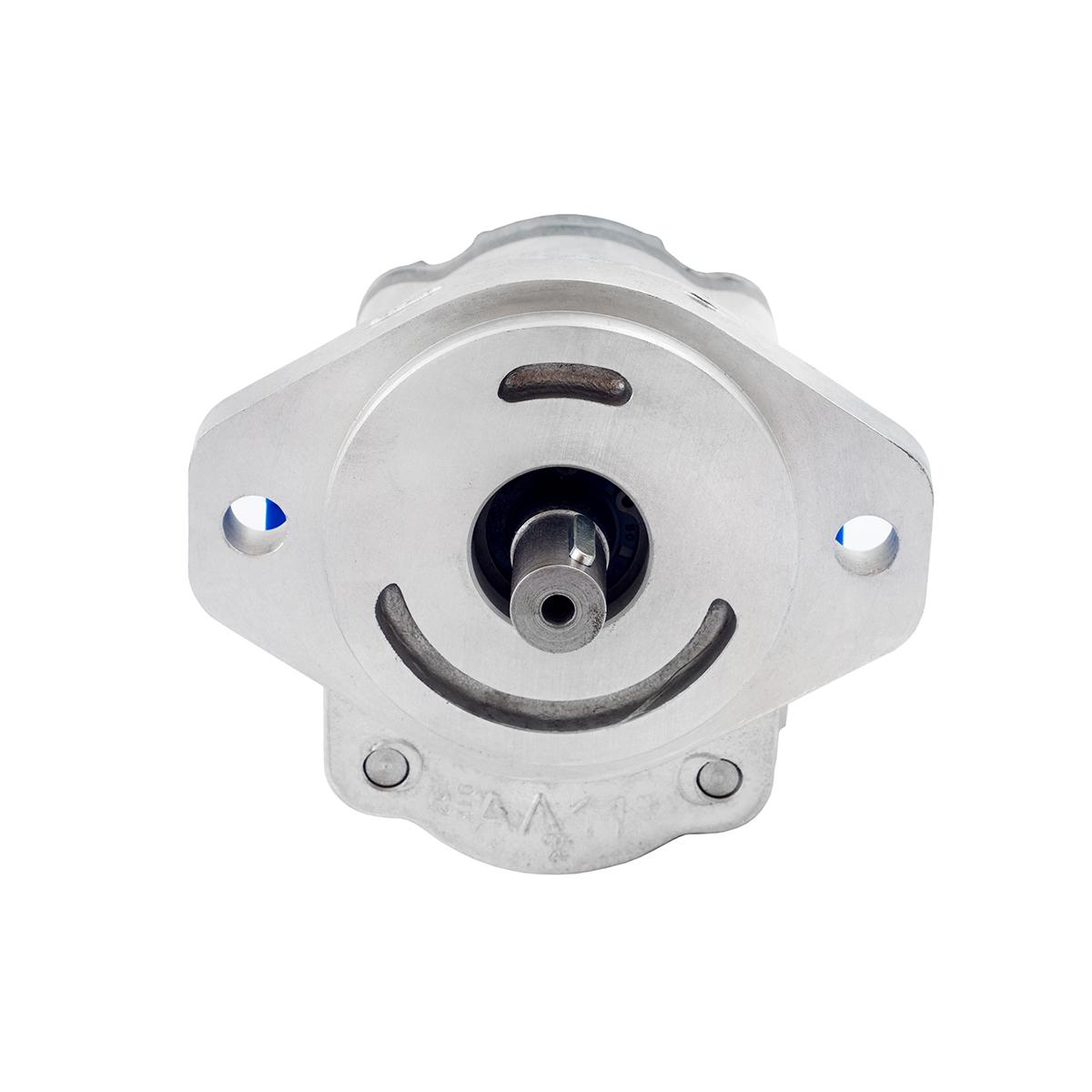 0.76 CID hydraulic gear pump, 3/4 keyed shaft counter-clockwise gear pump | Magister Hydraulics