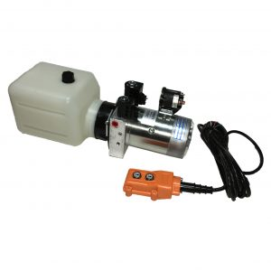 double acting 3 quarts hydraulic power unit 12V DC by MTE