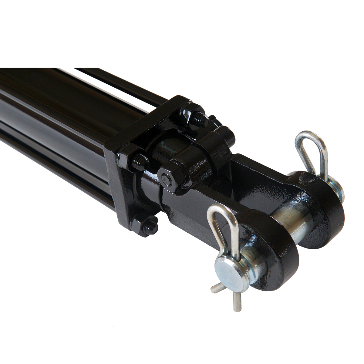 2 bore x 6 stroke hydraulic cylinder, tie rod double acting cylinder | Magister Hydraulics