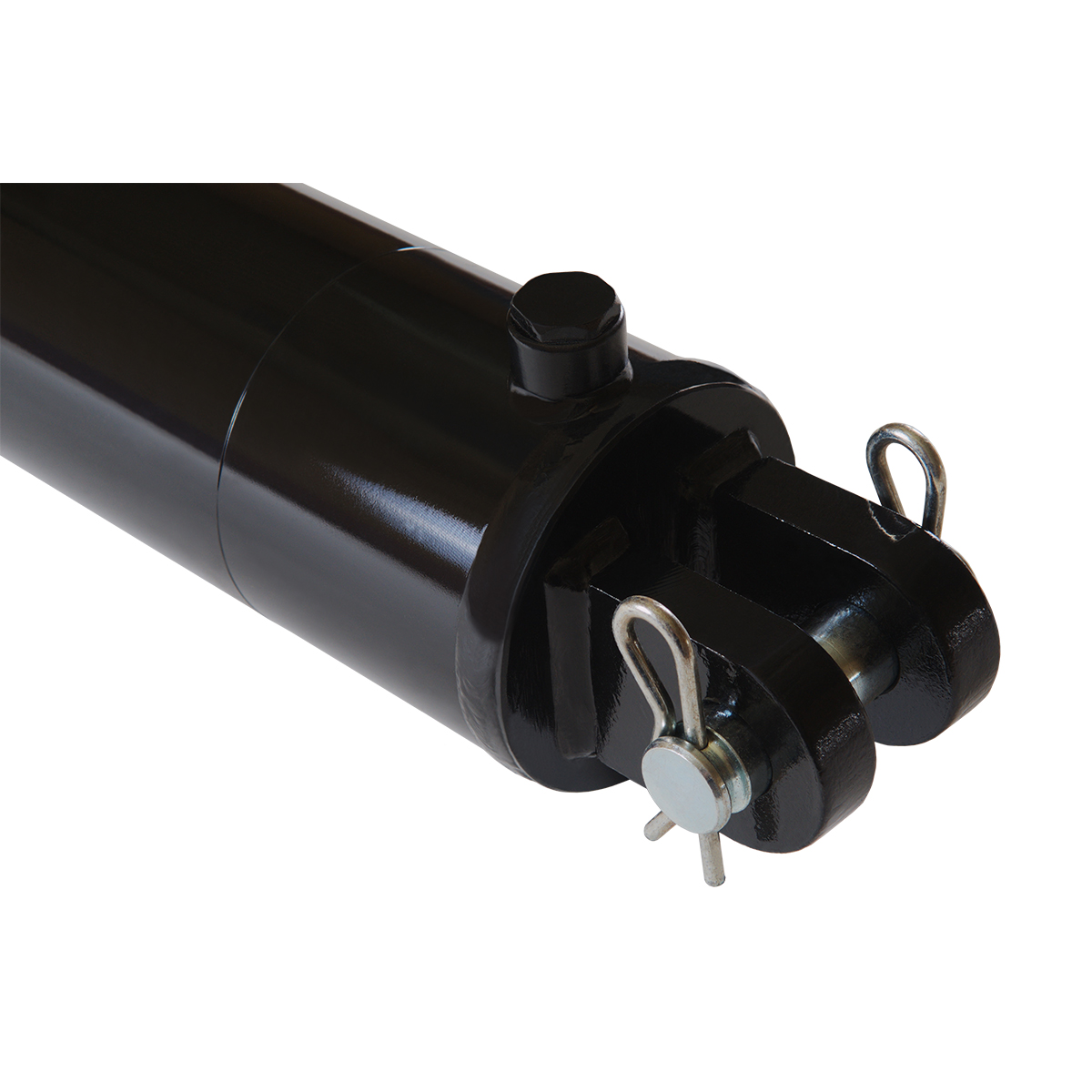 4 bore x 6 stroke hydraulic cylinder, welded clevis double acting cylinder | Magister Hydraulics