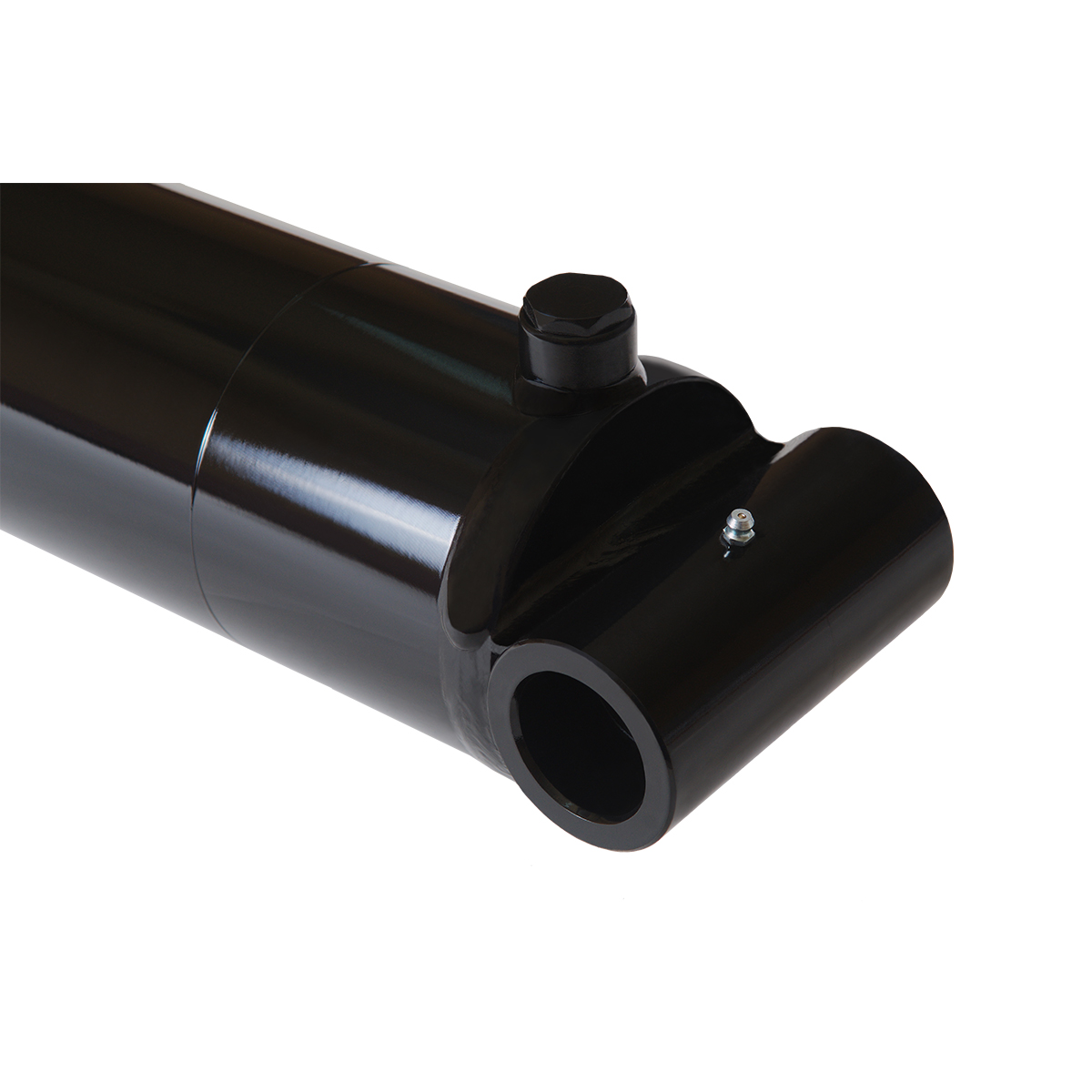 4 bore x 12 stroke hydraulic cylinder, welded cross tube double acting cylinder | Magister Hydraulics