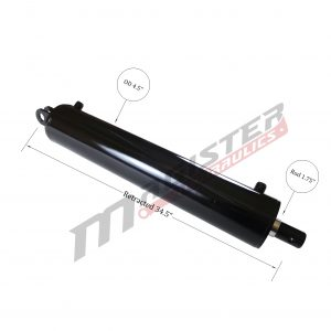 4 bore x 24 stroke hydraulic cylinder, log splitter double acting cylinder   Magister Hydraulics
