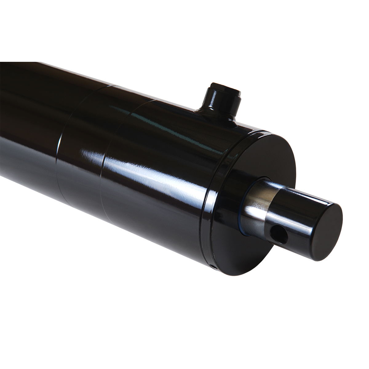 4 bore x 24 stroke hydraulic cylinder, log splitter double acting cylinder | Magister Hydraulics