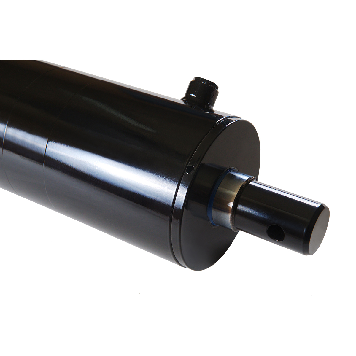 5 bore x 24 stroke hydraulic cylinder, log splitter double acting cylinder | Magister Hydraulics