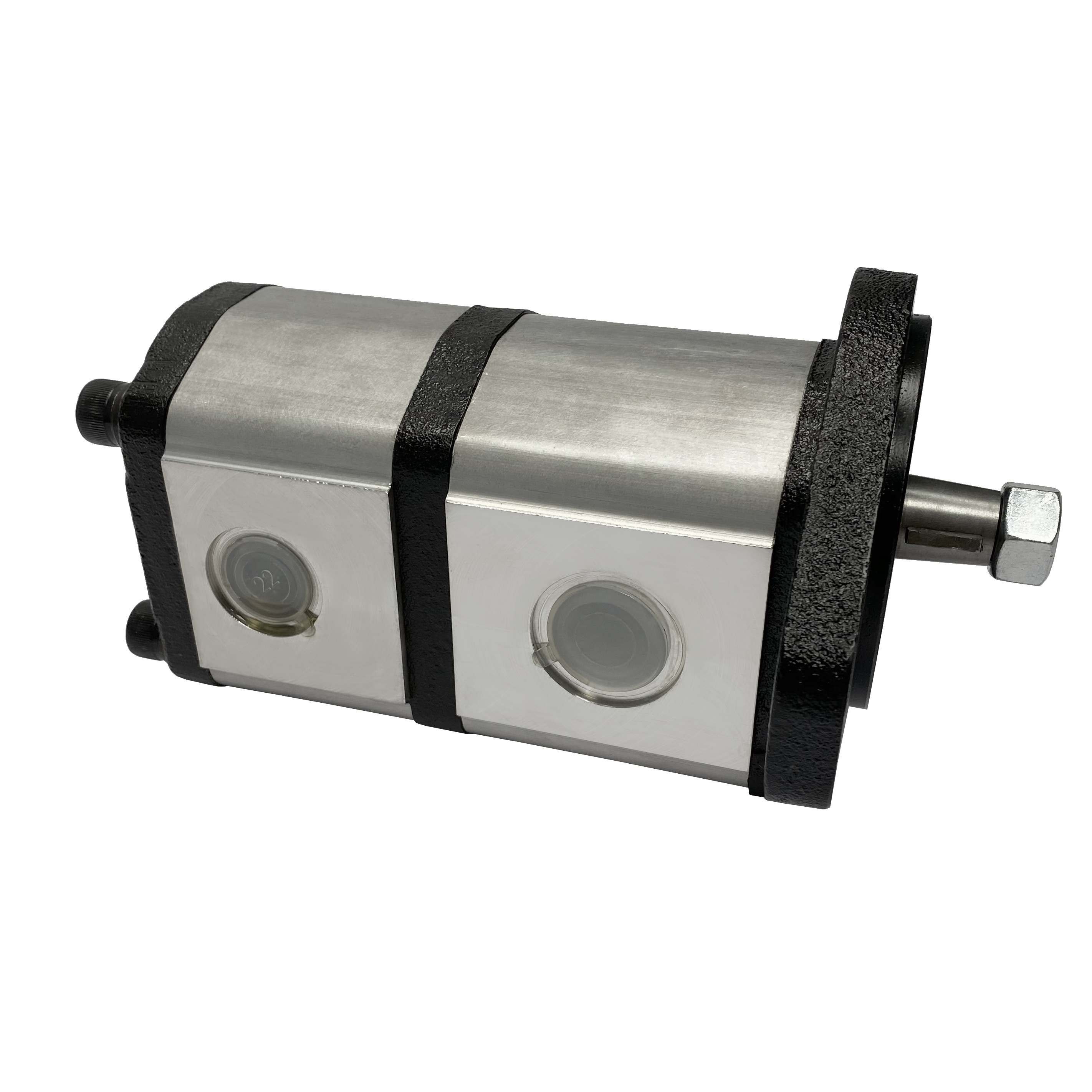 Hydraulic gear pump replacement for John Deere RE73947   Magister Hydraulics