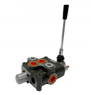 1 spool x 32 GPM hydraulic control valve, monoblock cast iron valve | Magister Hydraulics