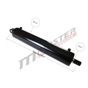 5 bore x 30 stroke hydraulic cylinder, log splitter double acting cylinder   Magister Hydraulics