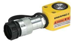 "Enerpac RC50 | Hydraulic Cylinder, Single Acting, Alloy Steel, GR2 Bearing, 5-Ton, 0.63"" Stroke 