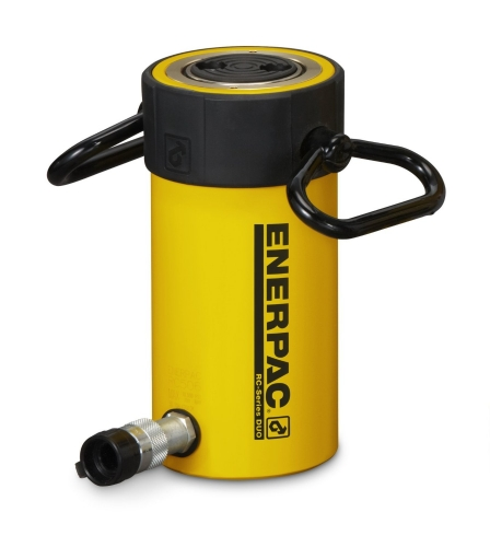 """Enerpac RC506   Hydraulic Cylinder, Single Acting, Alloy Steel, GR2 Bearing, 50-Ton, 6.25"""" Stroke   Magister"""