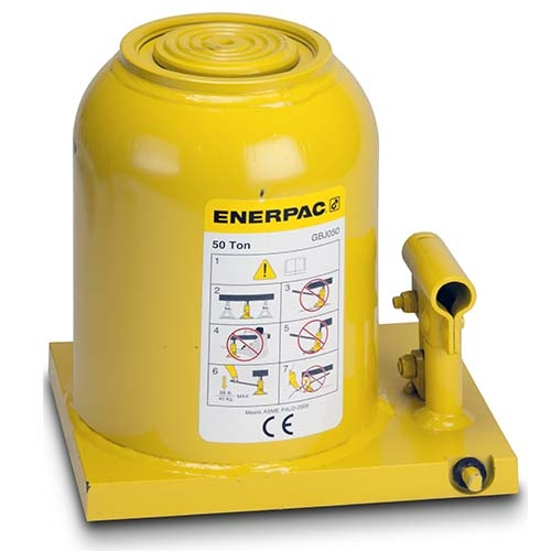 "Enerpac GBJ050   Hydraulic Industrial Bottle Jack, 50-Ton, 5.91"" Stroke   Magister"