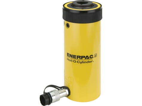 """Enerpac RCH306   Hollow Plunger Hydraulic Cylinder, Single Acting, Aluminum, 30-Ton, 6.13"""" Stroke   Magister"""