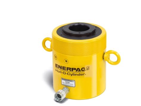 """Enerpac RCH603   Hollow Plunger Hydraulic Cylinder, Single Acting, Aluminum, 60-Ton, 3.00"""" Stroke   Magister"""