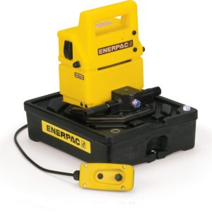 Enerpac PUJ1401B | Electric Hydraulic Pump, Two Speed, Remote and 10 Ft. Cord Included | Magister
