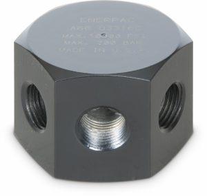Enerpac A66 | Hydraulic Manifold | 6 Port, Hexagon | Magister