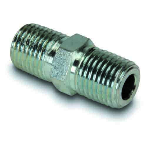 "Enerpac FZ1608 | High Pressure Hex Nipple Fitting, 1/4"" NPTF Male to 1/4"" NPTF Male | Magister"