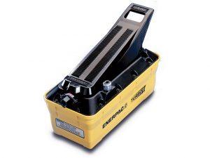 Enerpac PATG1102N | Turbo II Air Hydraulic Pump, Single Speed, 3-Way Treadle, 10,000 PSI | Magister