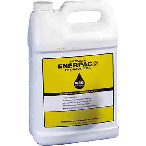 Enerpac HF102 | Premium Hydraulic Oil, 5 Gal., ISO 32, Formulated for power pumps | Magister