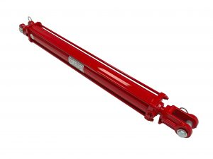 2 bore x 24 stroke CROSS hydraulic cylinder, tie rod double acting cylinder DB series   CROSS MANUFACTURING
