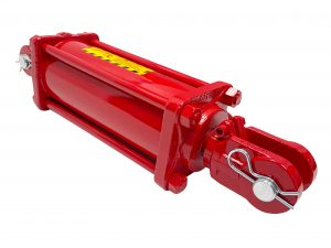 4 bore x 10 stroke CROSS hydraulic cylinder, tie rod double acting cylinder DB series   CROSS MANUFACTURING