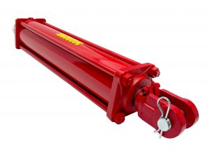4 bore x 24 stroke 1.5 rod CROSS hydraulic cylinder, tie rod double acting cylinder DB series   CROSS MANUFACTURING