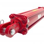 5 bore x 24 stroke CROSS hydraulic cylinder, tie rod double acting cylinder DB series | CROSS MANUFACTURING