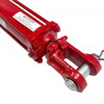 2 bore x 2 stroke CROSS hydraulic cylinder, tie rod double acting cylinder DB series | CROSS MANUFACTURING