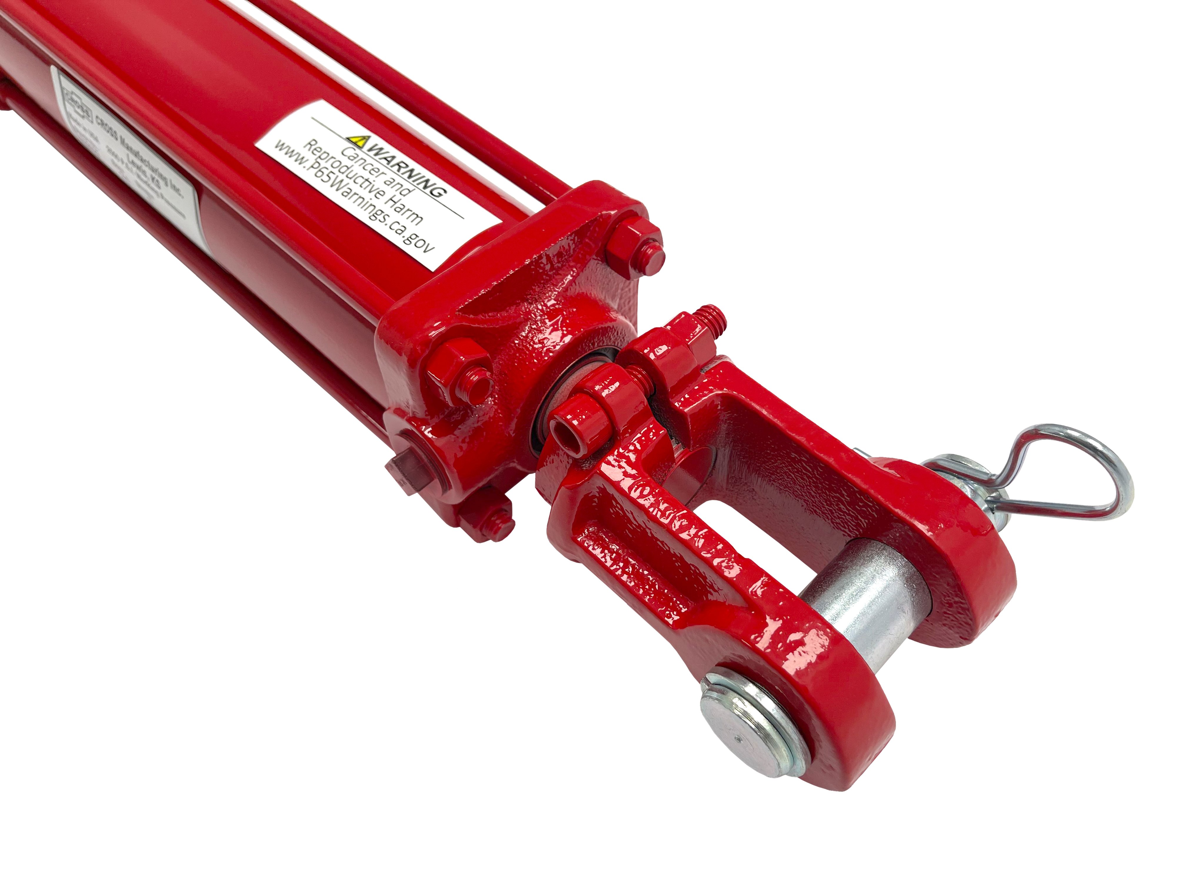 3 bore x 6 stroke CROSS hydraulic cylinder, tie rod double acting cylinder DB series | CROSS MANUFACTURING
