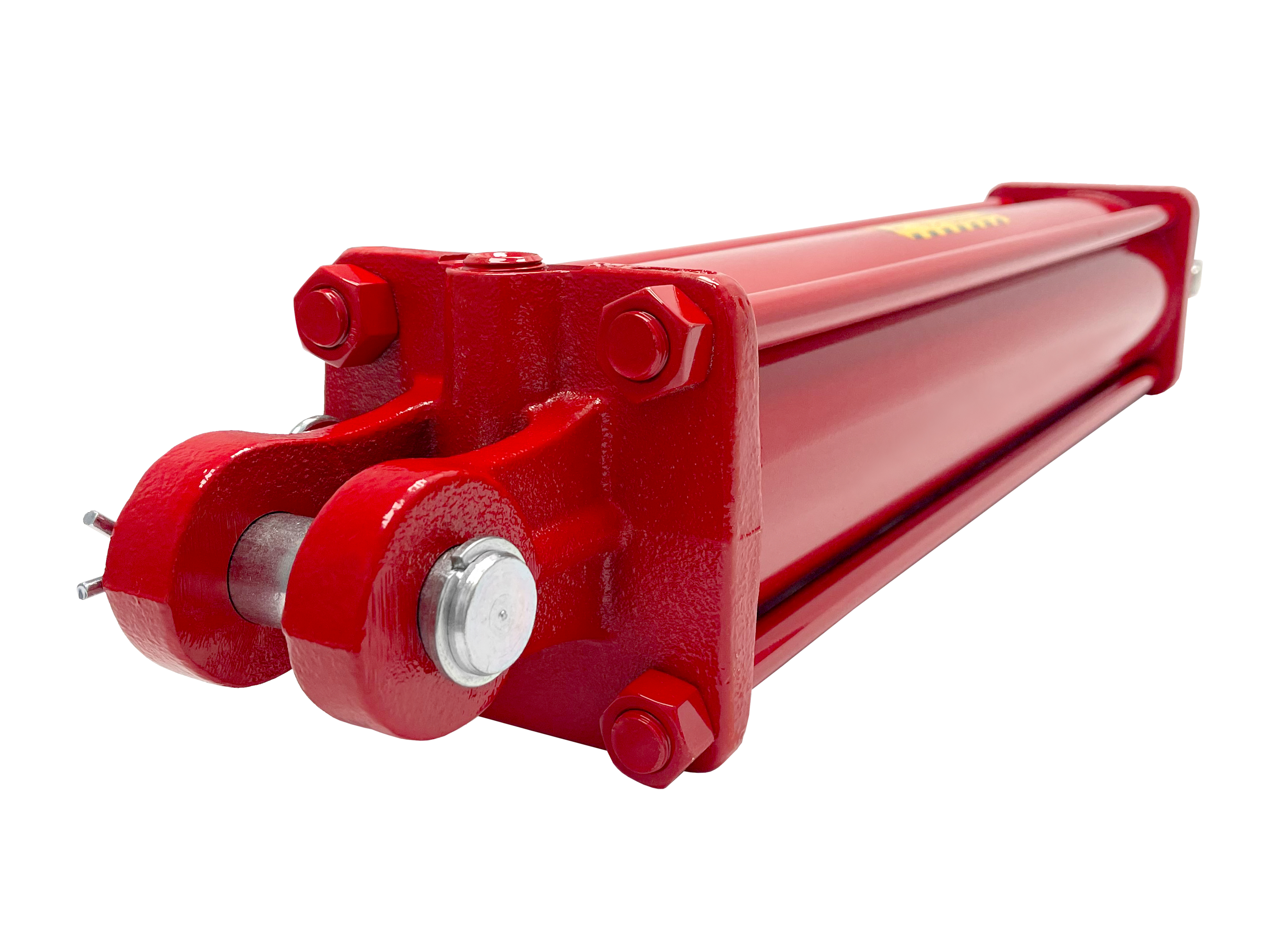 4 bore x 24 stroke CROSS hydraulic cylinder, tie rod double acting cylinder DH series   CROSS MANUFACTURING