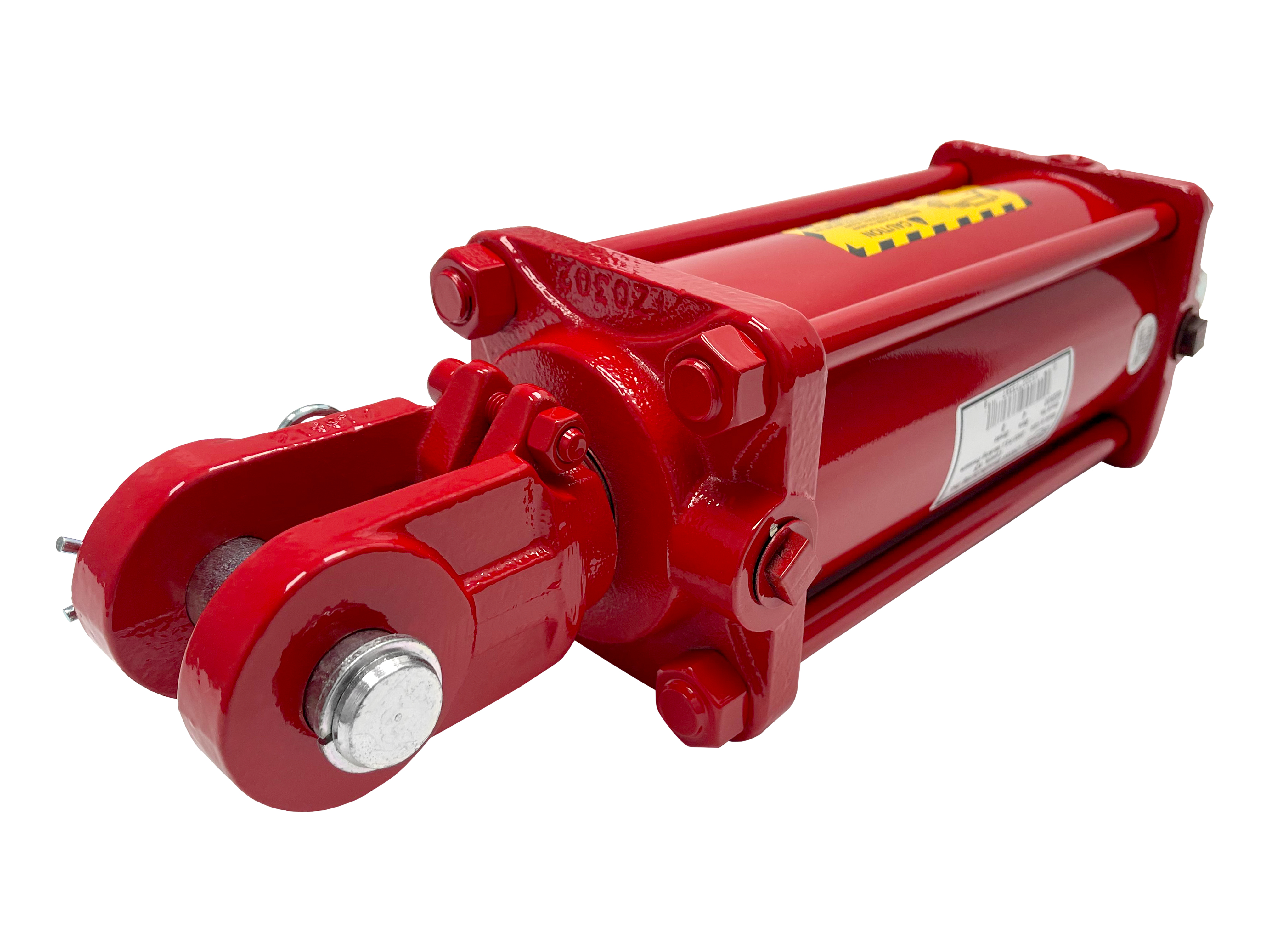 4 bore x 8 stroke CROSS hydraulic cylinder, tie rod double acting cylinder DB series   CROSS MANUFACTURING