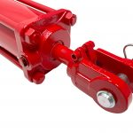 4 bore x 8 ASAE stroke 1.5 rod CROSS hydraulic cylinder, tie rod double acting cylinder DB series | CROSS MANUFACTURING