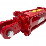 4 bore x 14 stroke CROSS hydraulic cylinder, tie rod double acting cylinder DB series   CROSS MANUFACTURING