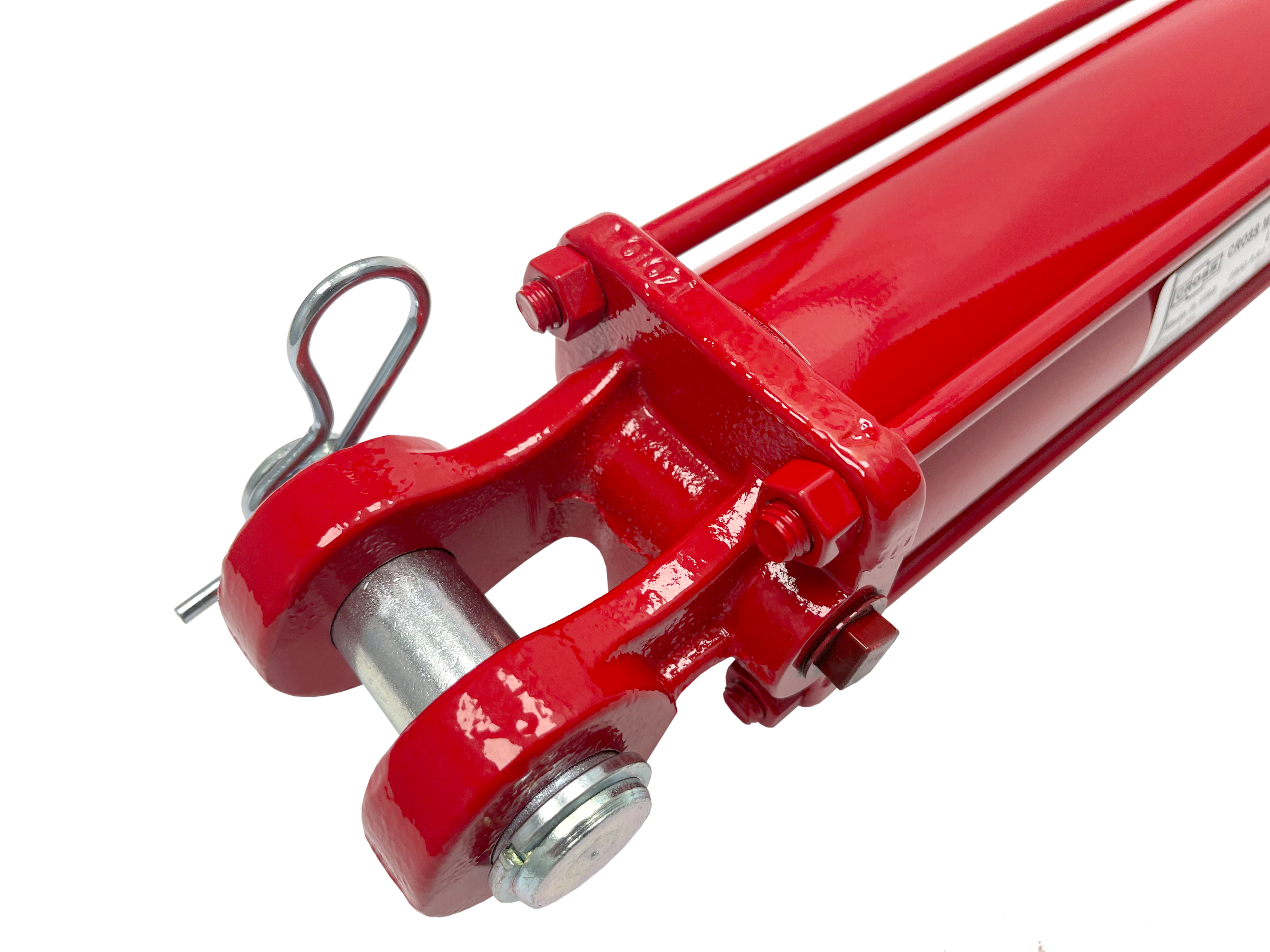 2 bore x 14 stroke CROSS hydraulic cylinder, tie rod double acting cylinder DB series   CROSS MANUFACTURING