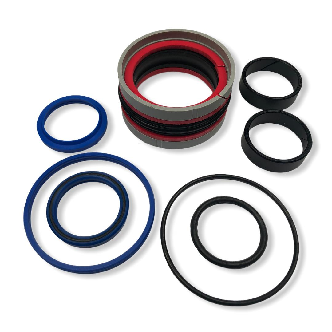 4 bore 2 rod hydraulic cylinder repair seal kit for double acting cylinder