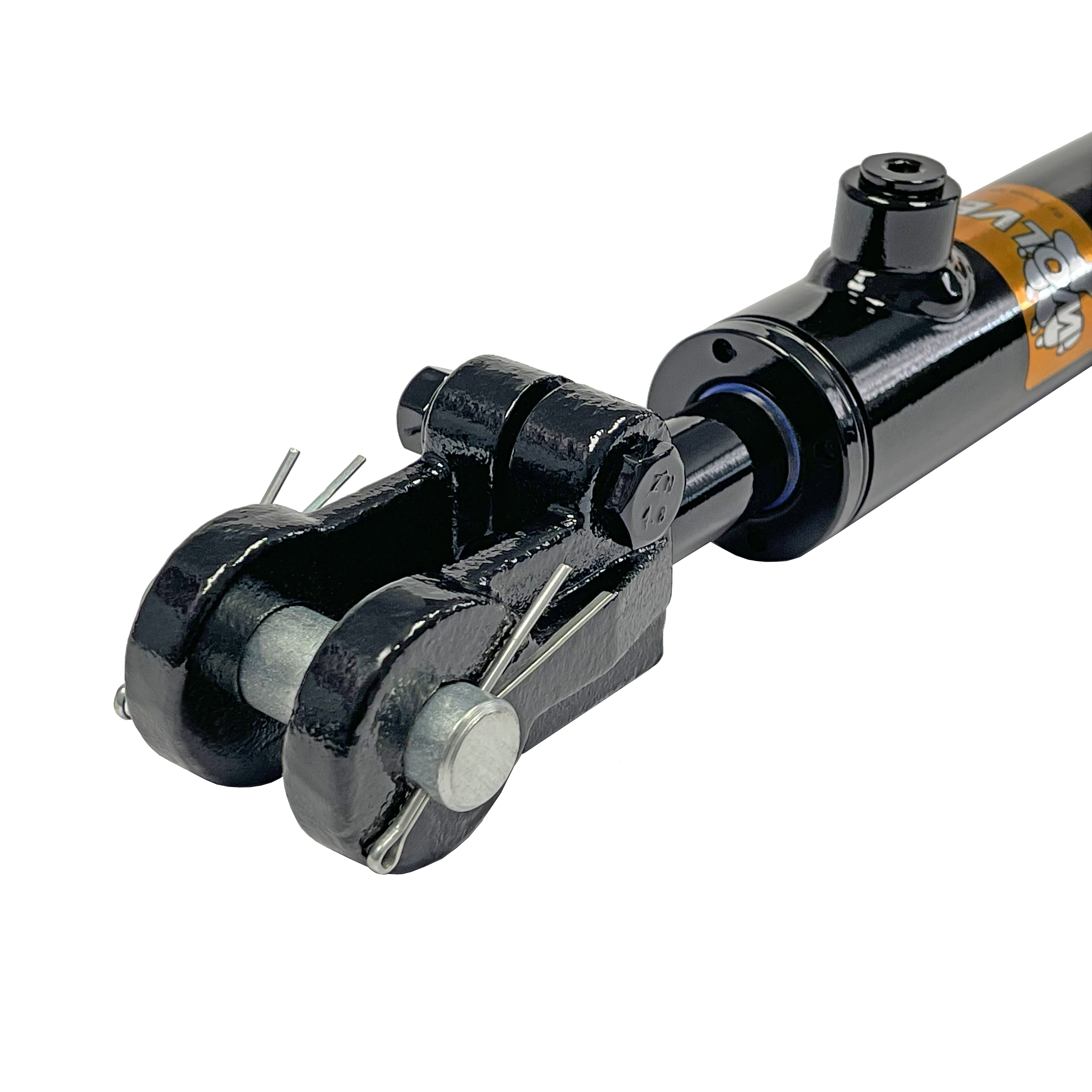 1.5 bore x 10 stroke Clevis hydraulic cylinder, welded Clevis double acting cylinder   Prince Hydraulics