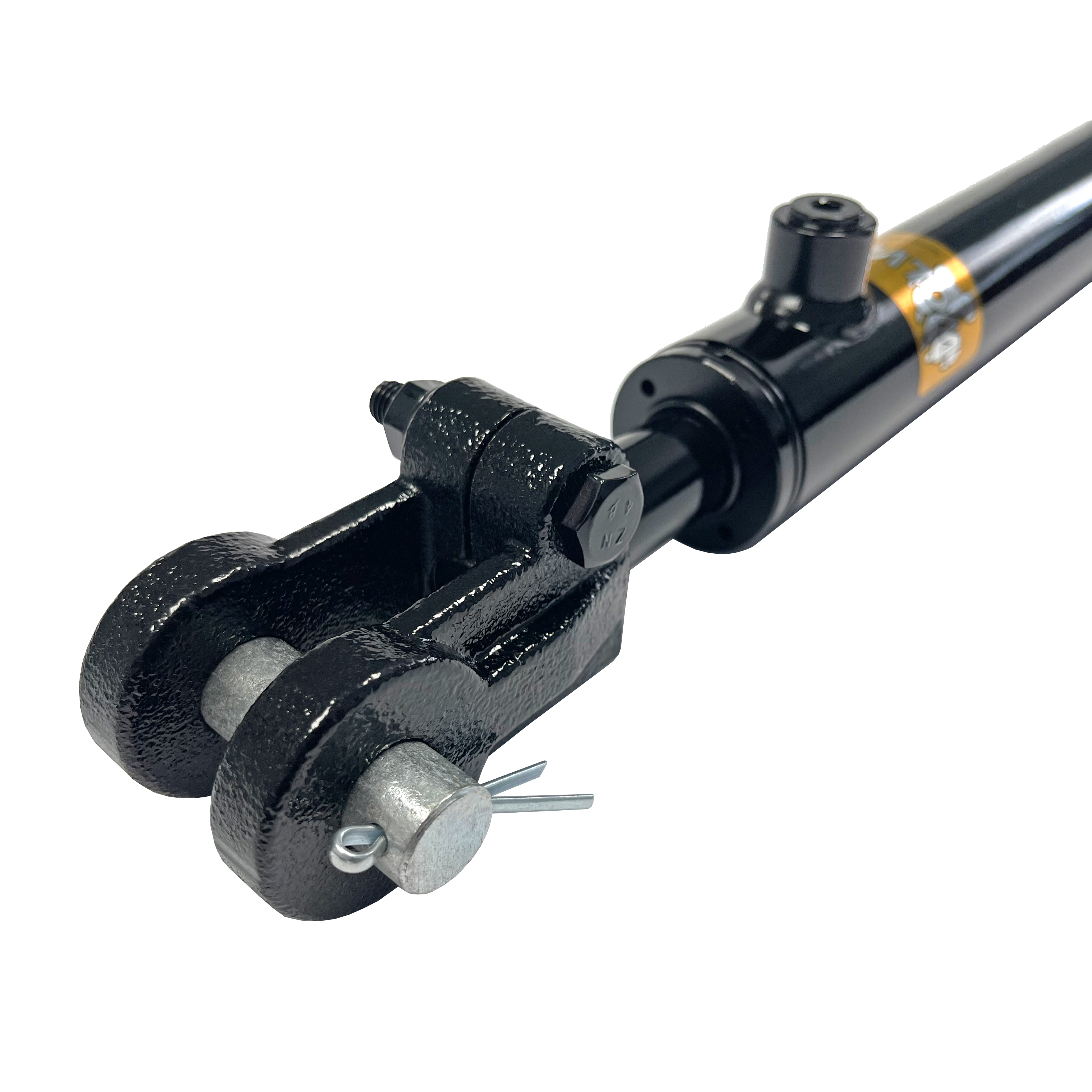 1.5 bore x 12 stroke Clevis hydraulic cylinder, welded Clevis double acting cylinder   Prince Hydraulics