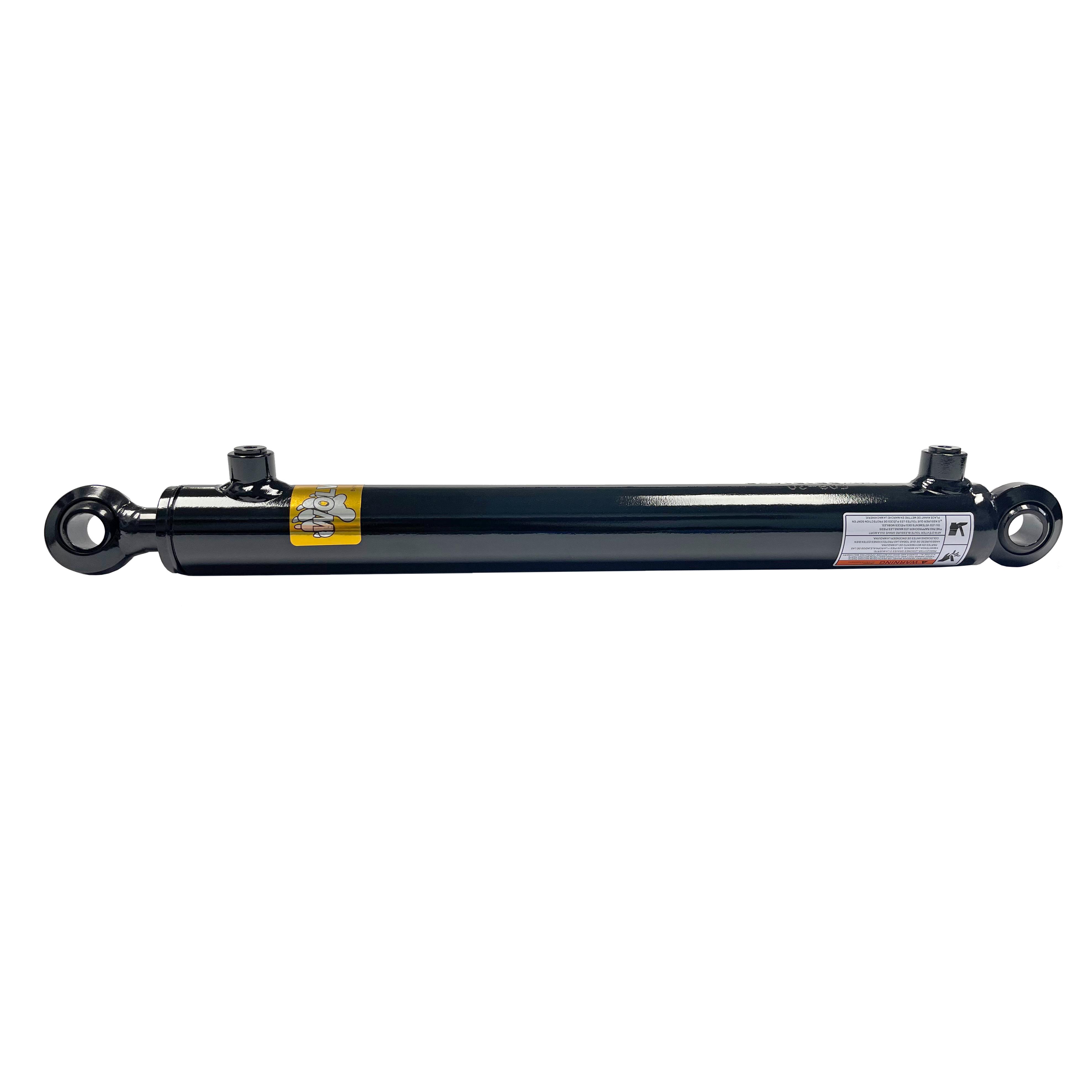 1.5 bore x 12 stroke swivel eye hydraulic cylinder, welded swivel eye double acting cylinder | Prince Hydraulics