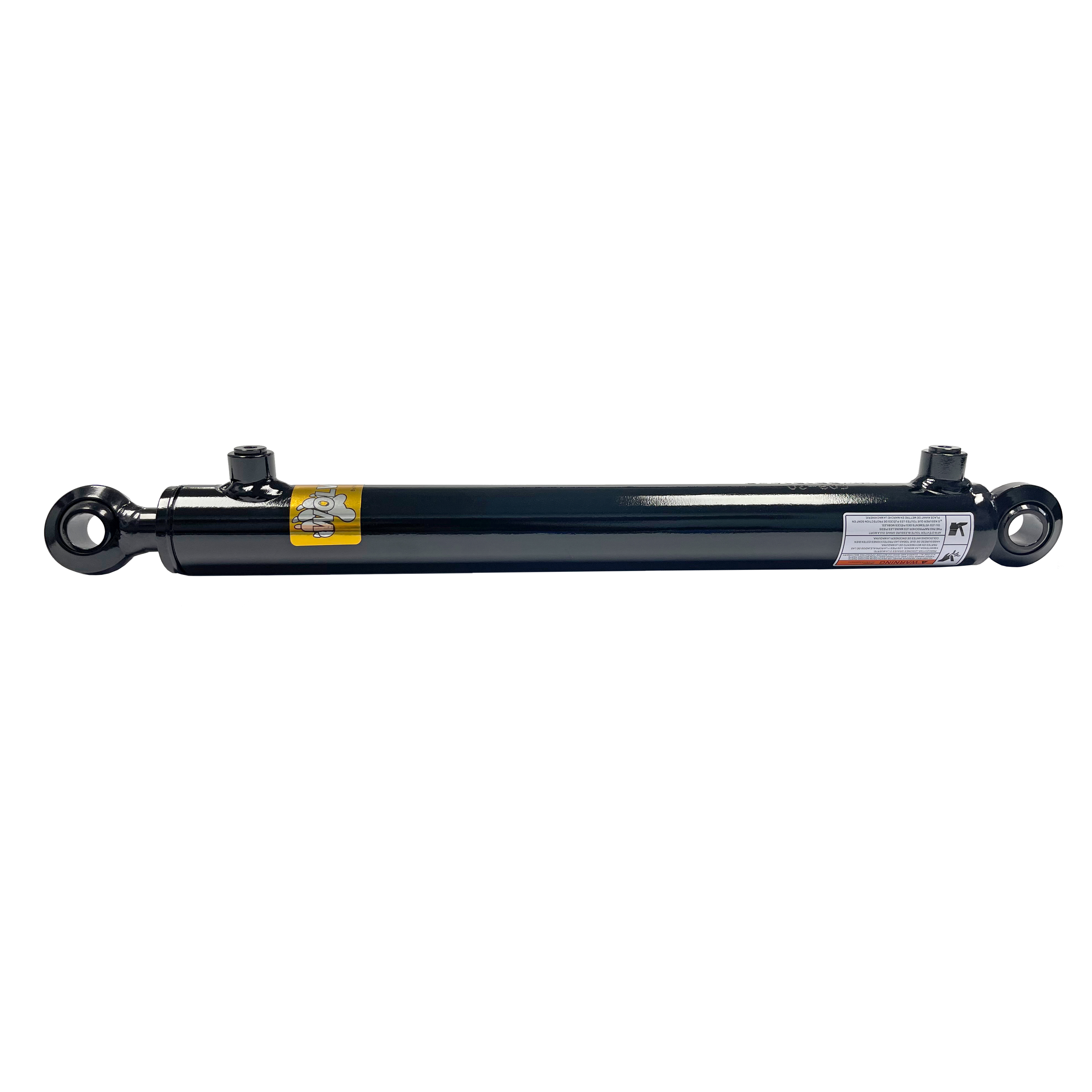 1.5 bore x 6 stroke swivel eye hydraulic cylinder, welded swivel eye double acting cylinder | Prince Hydraulics