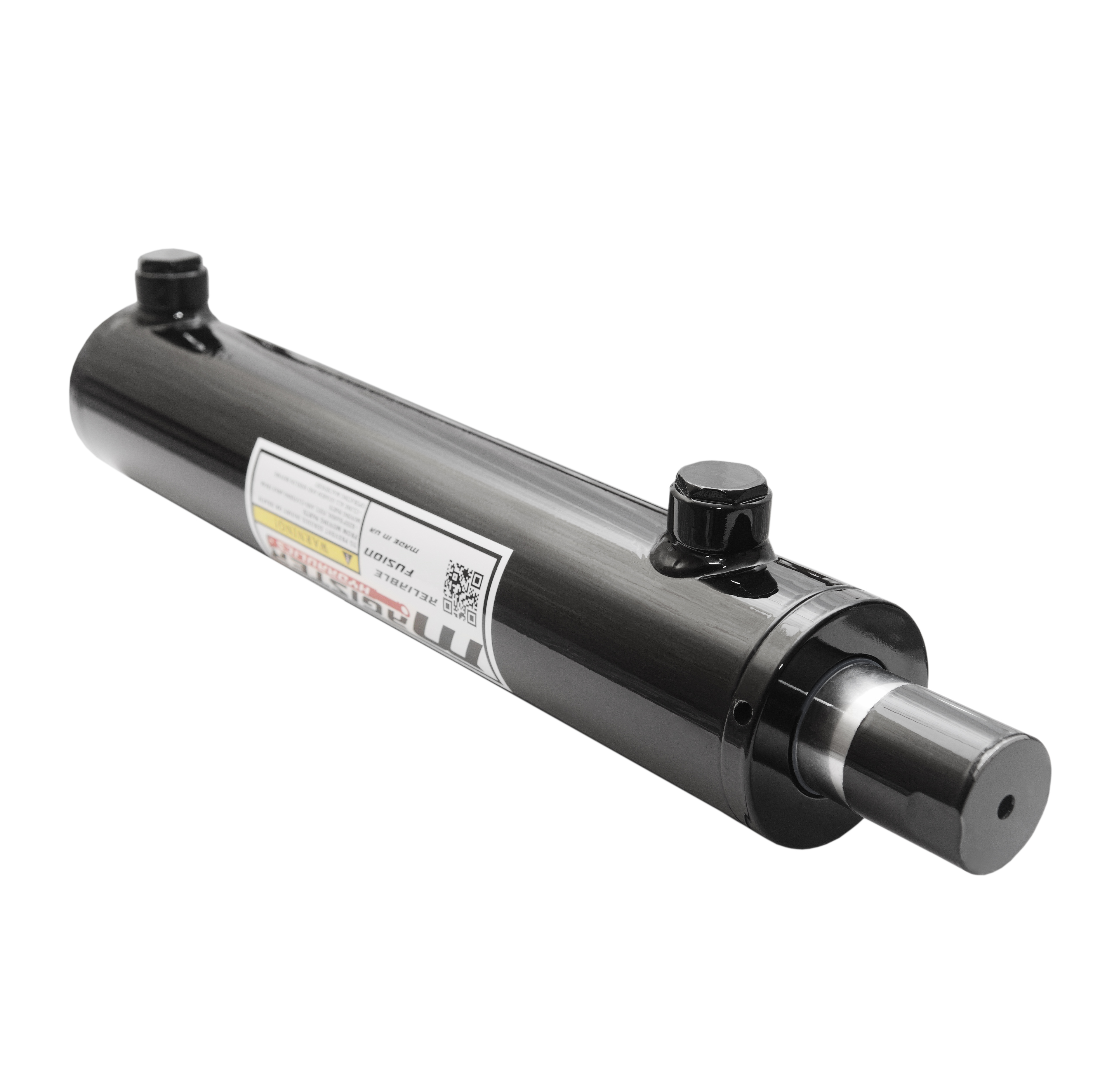 2 bore x 23 stroke hydraulic cylinder, welded universal double acting cylinder | Magister Hydraulics