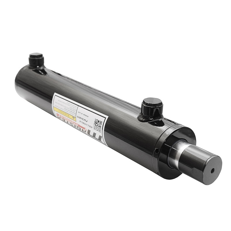 2 bore x 22 stroke hydraulic cylinder, welded universal double acting cylinder | Magister Hydraulics